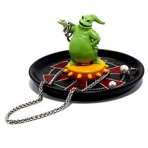 Tray Jewelry Oogie Boogie Roulette Wheel